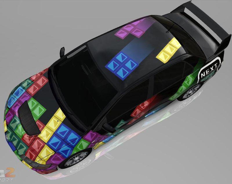 Tetris-car